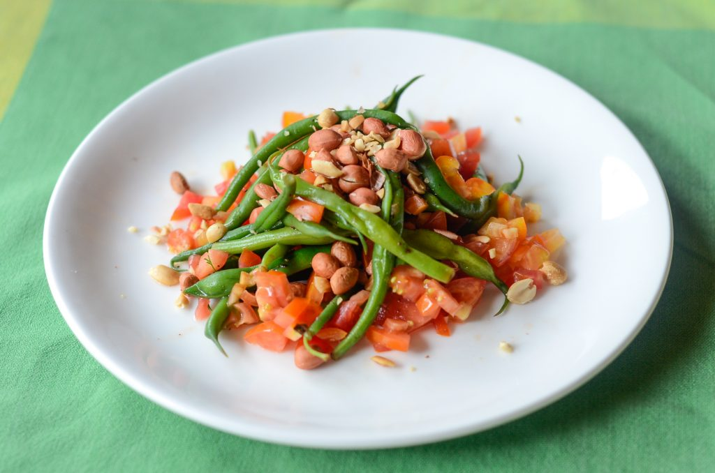 French Beans _ Tomato Salad