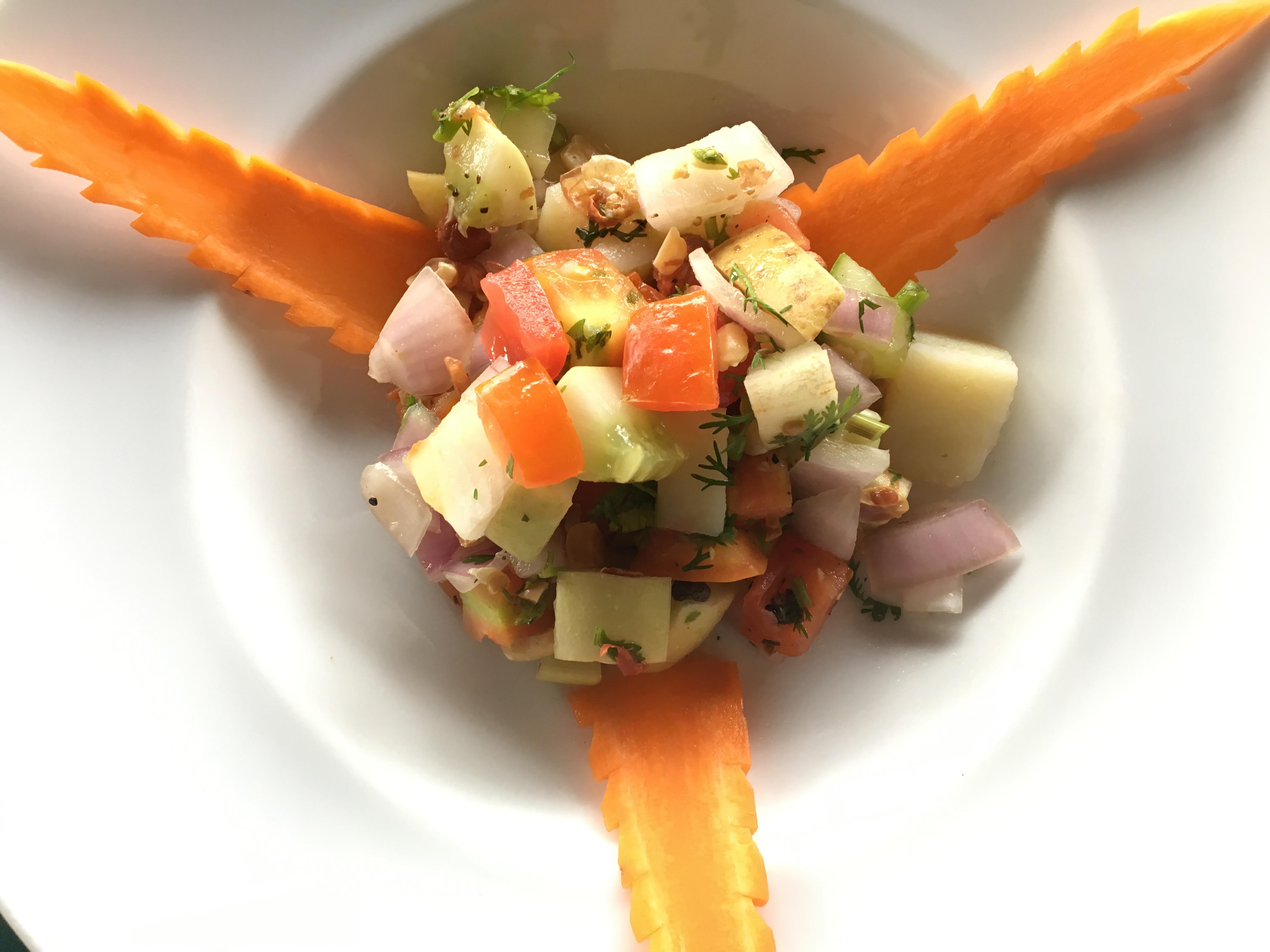 Indian Tossed Salad Sharan