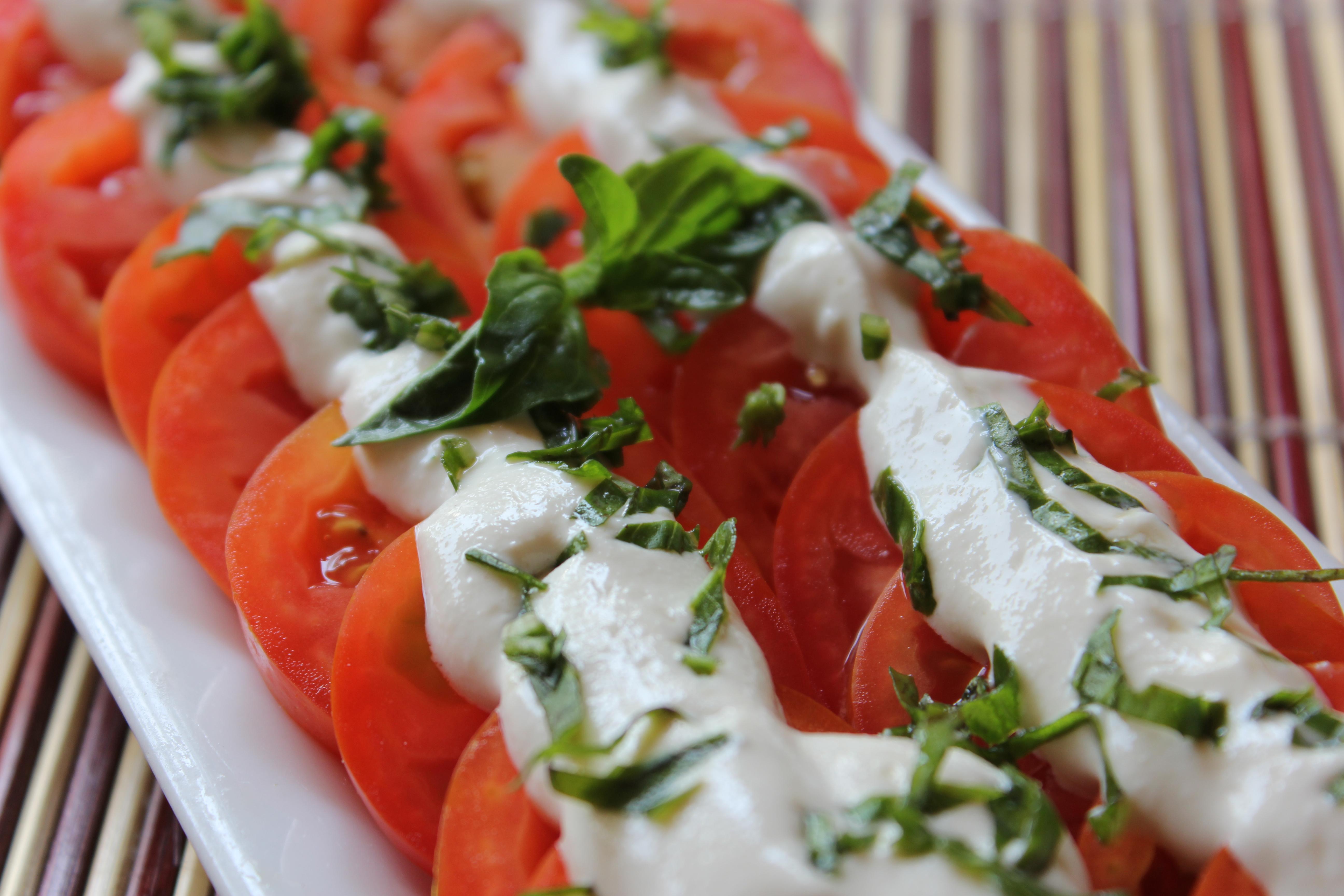 Tomato Salad with Tahini