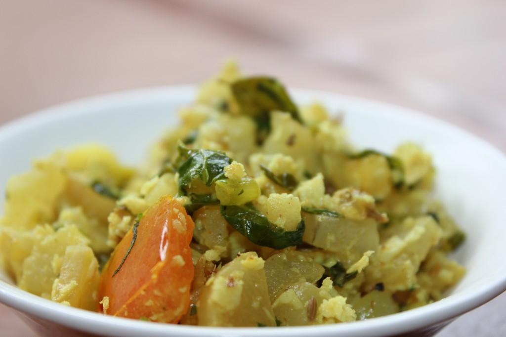 Vegetable Poriyal